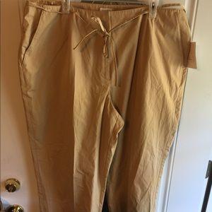 Cropped pants by Liz Claiborne size 22W